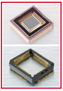 LCC Image Sensor Sockets and Other LCC Sockets